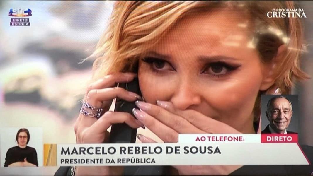 Cristina Ferreira sabia que Marcelo lhe iria telefonar