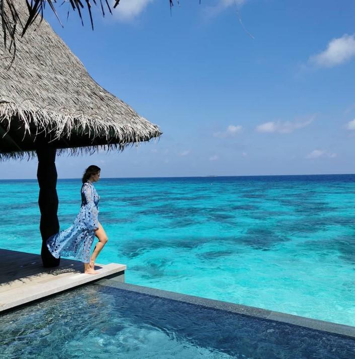 Cristina Ferreira está de volta às Maldivas