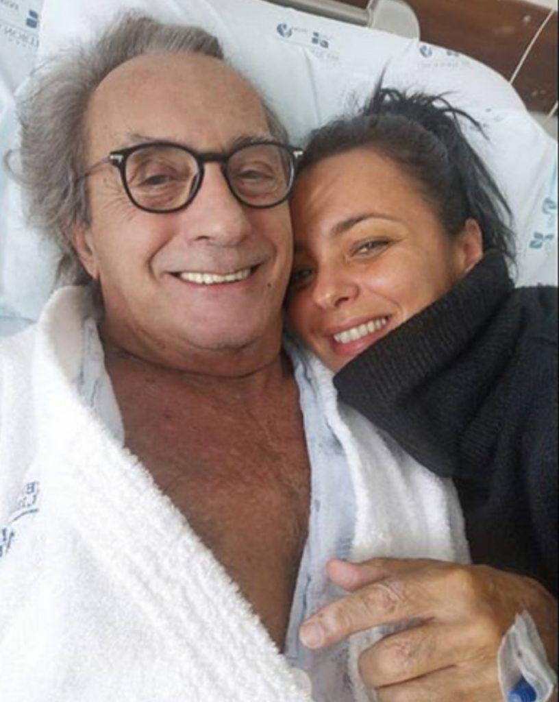Filha de Carlos Cruz desmente que pai tenha tido um AVC