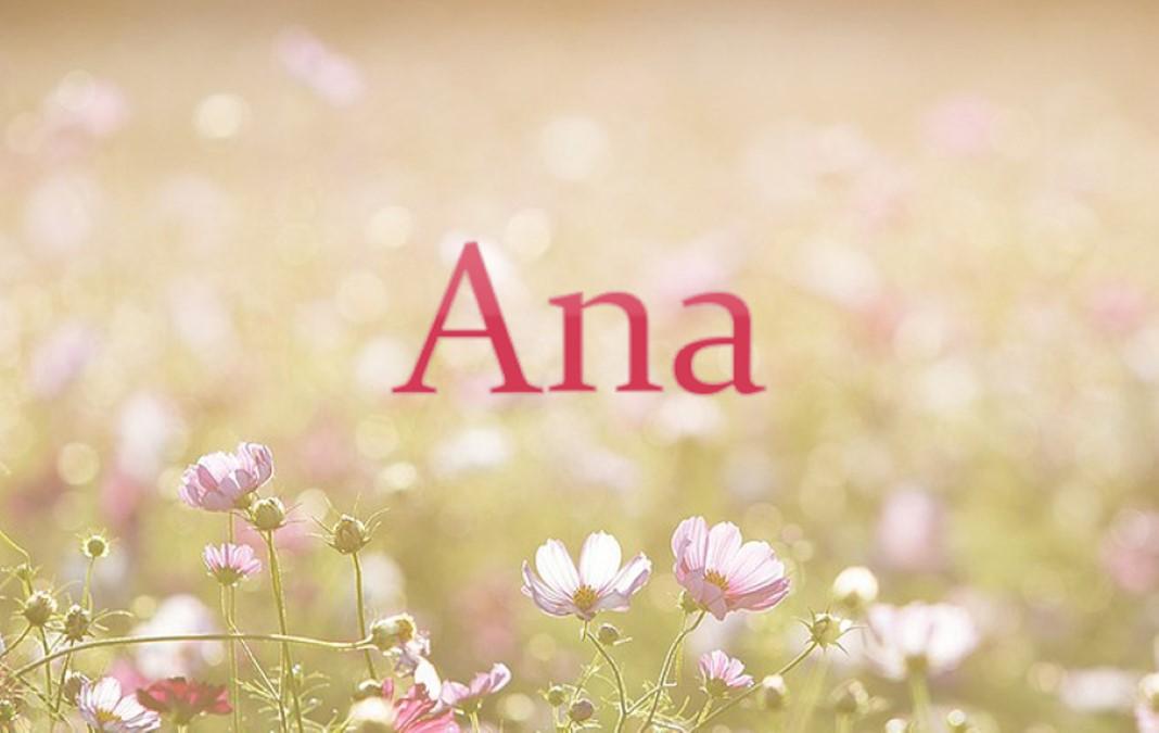 Quem é a Ana?