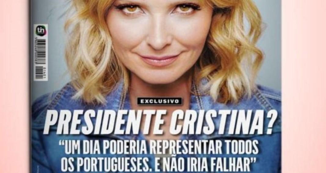 Cristina Ferreira quer um dia estar no lugar de Marcelo Rebelo de Sousa