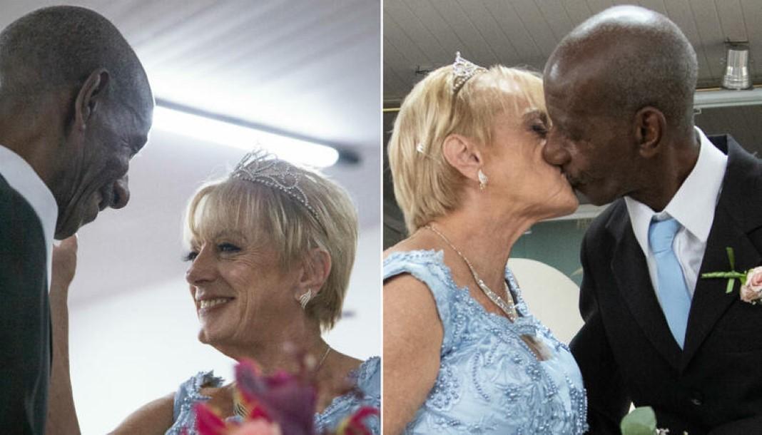 casal reencontra-se após 50 anos
