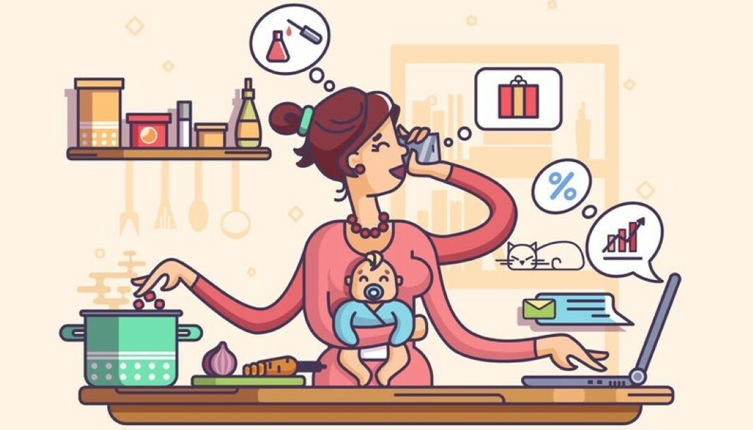 Ser mãe equivale a ter dois empregos