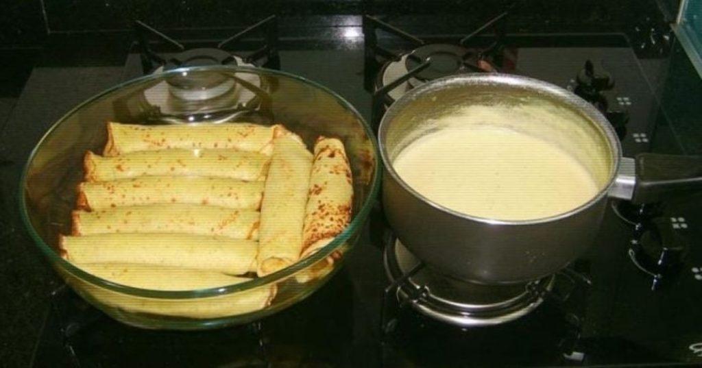 Deliciosa massa de panqueca