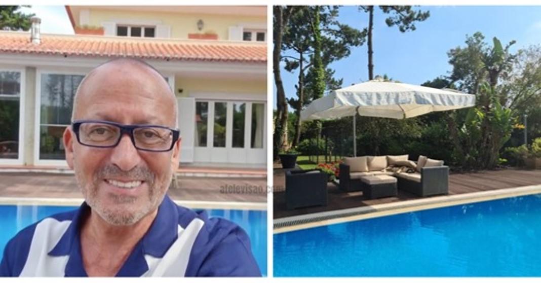 luxuosa mansão de Sintra