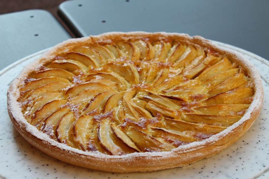 deliciosa tarte de maçã da avó