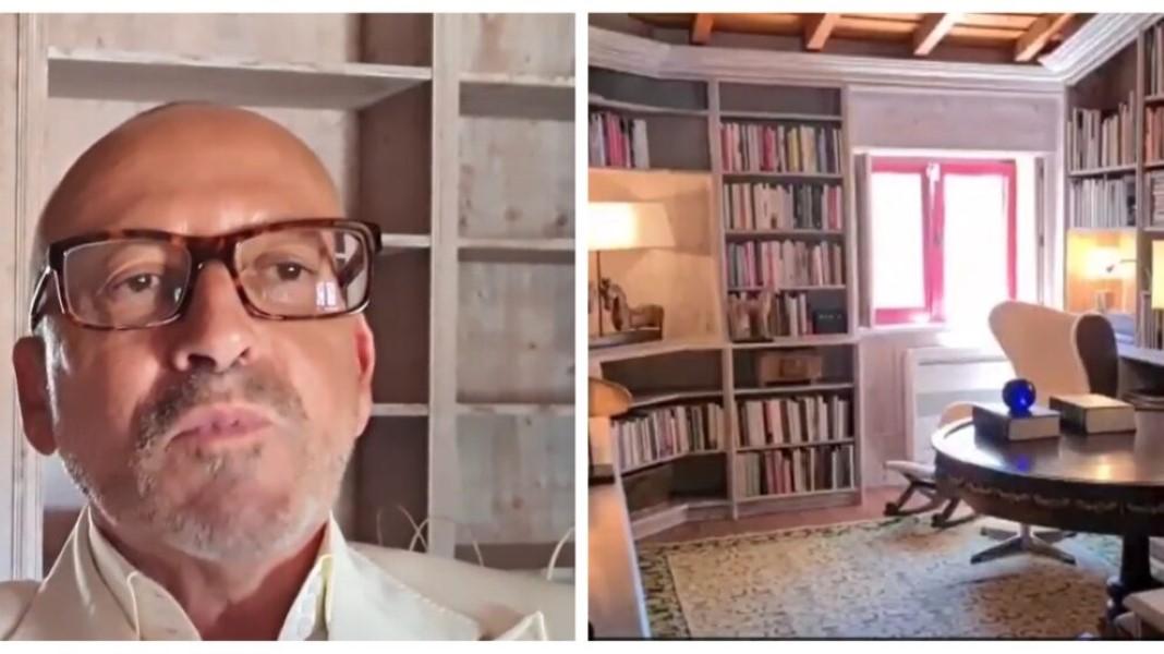 Manuel Luís Goucha partilha a própria biblioteca
