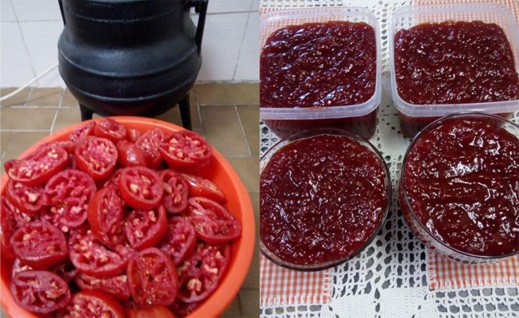 Doce de tomate de antigamente