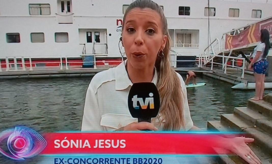 Sónia a repórter