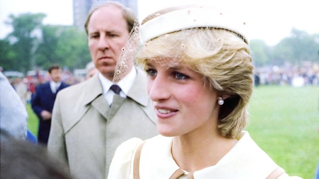 estátua da Princesa Diana