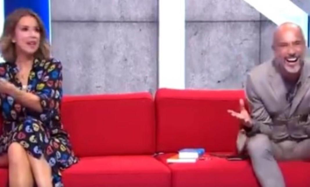 Ana Garcia Martins deixa Pedro Crispim rir-se