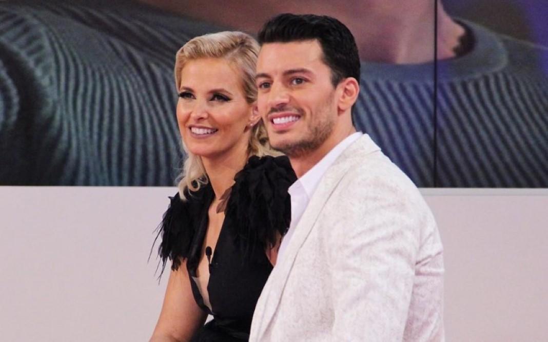 Cristina Ferreira e Ruben Rua juntos