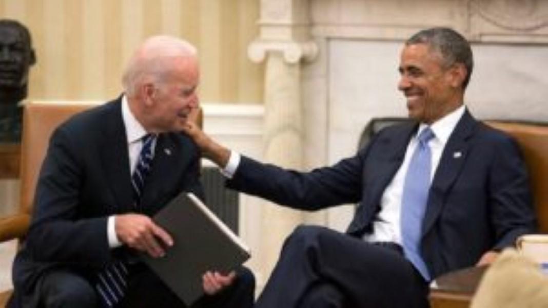 Barack Obama parabeniza Joe Biden