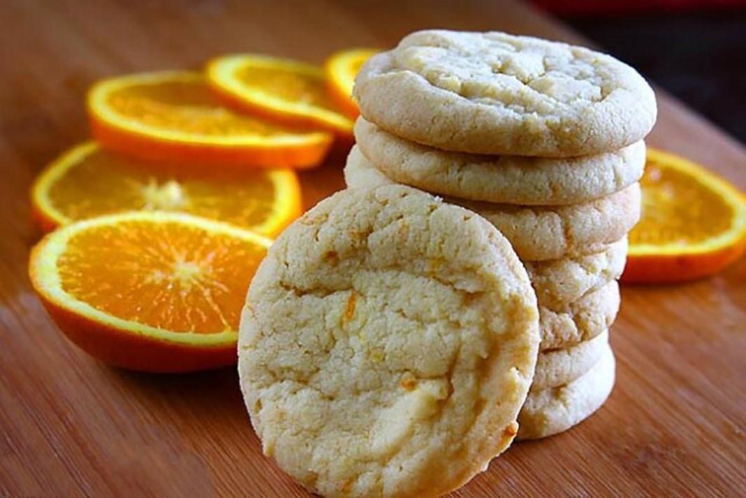 Bolachas de laranja