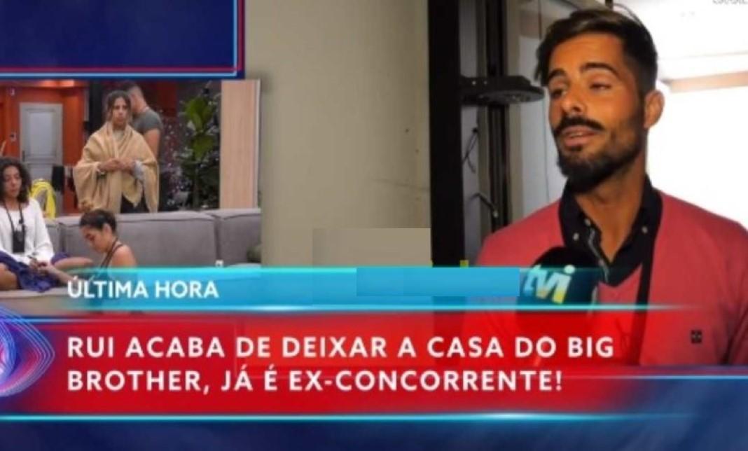 Rui Pedro dá entrevista