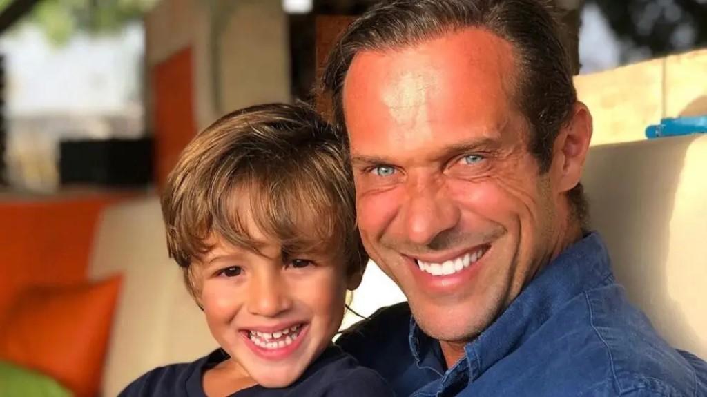 José Carlos Pereira comemora aniversário filho
