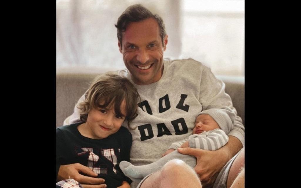 José Carlos Pereira partilha foto com dois filhos