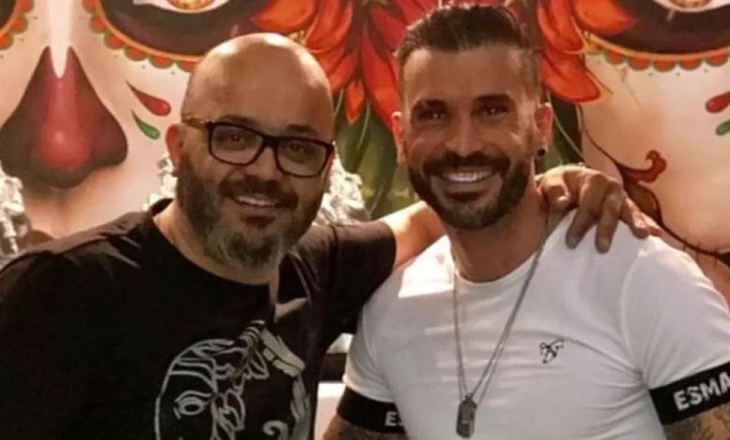Bruno Savate foi almoçar com Fernando Rocha