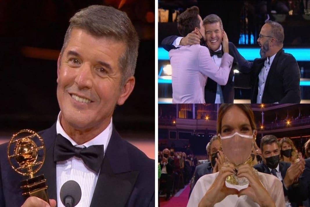 João Baião agradeceu o Globo de Ouro